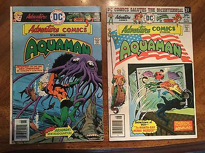 Aquaman lot of 2 Comics - 445, 446