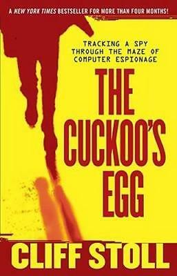NEW The Cuckoo's Egg By Cliff Stoll Paperback Free Shipping