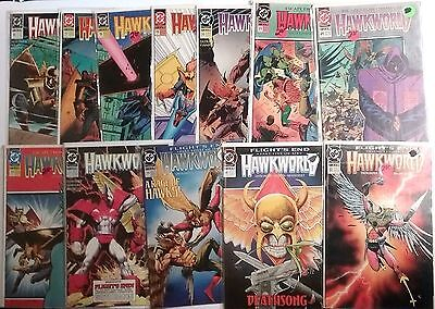 Hawkworld Lot Of 14-#12-32 Plus Ann. 1 & 2-1991-Flight's End-Thangar!-Dc-Fine