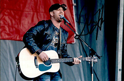 Tim Hicks SIGNED 4x6 photo  THROW DOWN - Country Music w/PROOF