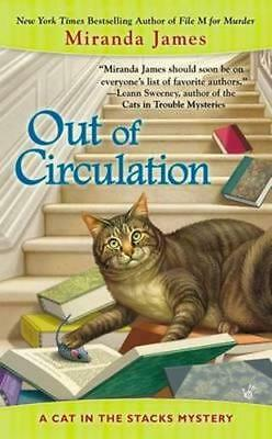 NEW Out of Circulation By Miranda James Paperback Free Shipping