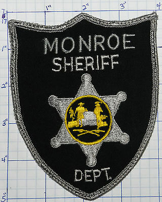 West Virginia, Monroe County Sheriff Dept Patch