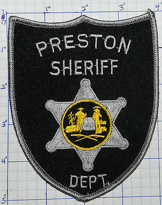 West Virginia, Preston County Sheriff Dept Patch