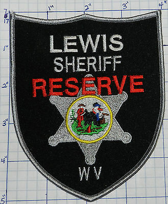 West Virginia, Lewis County Sheriff Reserve Patch