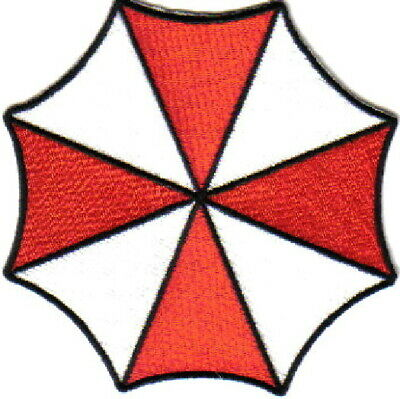Resident Evil Umbrella Corporation Umbrella Logo Large Jacket Patch, NEW UNUSED
