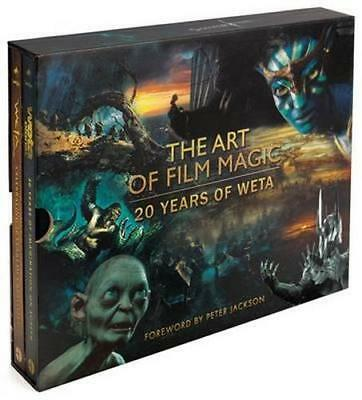 NEW The Art of Film Magic By Weta Hardcover Free Shipping