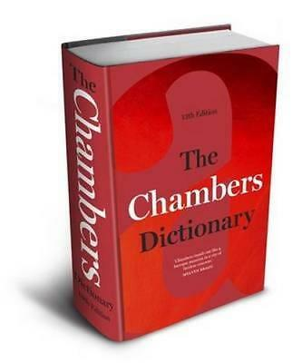 NEW The Chambers Dictionary By Chambers Hardcover Free Shipping
