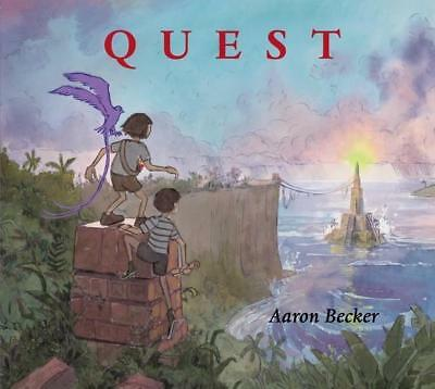 NEW Quest By Aaron Becker Hardcover Free Shipping