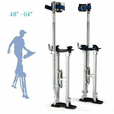 Silver 48-64 Inch Drywall Stilts Aluminum Tool Stilt For Painting Painter Taping