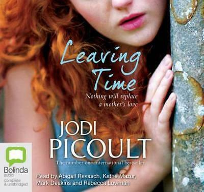 NEW Leaving Time By Jodi Picoult Audio CD Free Shipping