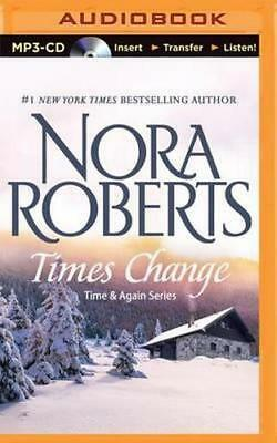 NEW Times Change By Nora Roberts CD in MP3 Format Free Shipping