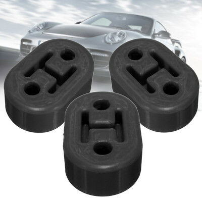 3PCS Upgrad Bracket Heavy Duty Exhaust Rubber Repair Hanger Support Replacement