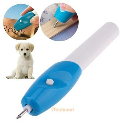 Cordless Electric Etching Engraving Engraver Pen Carve Jewelry Metal Glass Tool