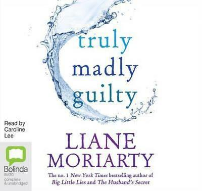 NEW Truly Madly Guilty By Caroline Lee Audio CD Free Shipping