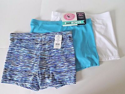 Playground Pals Girls Worry Free Play Shorts 3 Pack By Maidenform Size Xl 14/16