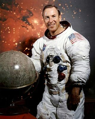 Historical Memorabilia Astronaut Jim Lovell Suited Up Apollo 13 11x14 Silver Halide Photo Print Matching In Colour Astronauts