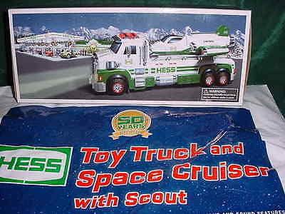 2014 Christmas Xmas Hess 50Th Anniversary Toy Truck And Space Cruiser &scout Mib