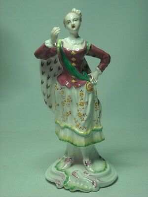 Spode Chelsea ELEGANT LADY WITH SASH AND CAPE 6 Photos Ranelagh #2 Figurine