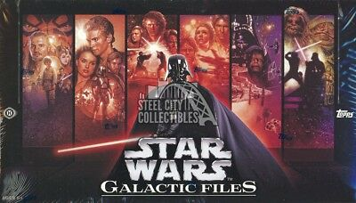 2012 Topps Star Wars Galactic Files 1 Hobby Box