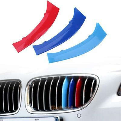 Car Styling Front Grille Grill Trim Strip Cover for BMW X3 F25 F26 X4 2011-2017