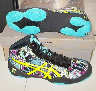 ASICS JB ELITE V2.0 Wrestling MENS Comic Flash Yellow J501Q NEW