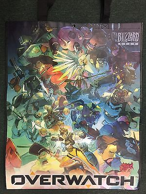 SDCC 2017 Exclusive Blizzard Overwatch World of Warcraft Large Tote Bag