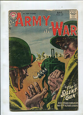 Our Army At War #57 (4.0) Grey Tone Cover