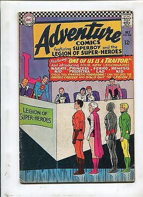 Adventure Comics #346 (5.0) 1St Karate Kid/princess Projectra/ferro Lad/nemesis!