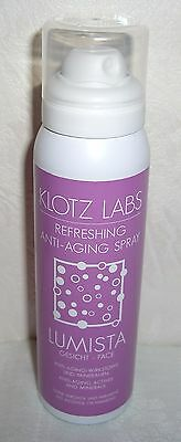 (26,65€/100 ml) NEU = KLOTZ Labs Refreshing Anti Aging SPRAY 75 ml Lumista Face