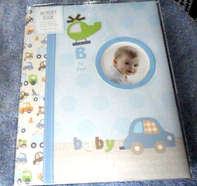 Stepping Stones B is for Baby Boy First Memory Book Brand Blue New