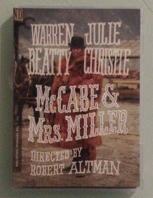 the criterion collection MCCABE & MRS MILLER    DVD includes insert