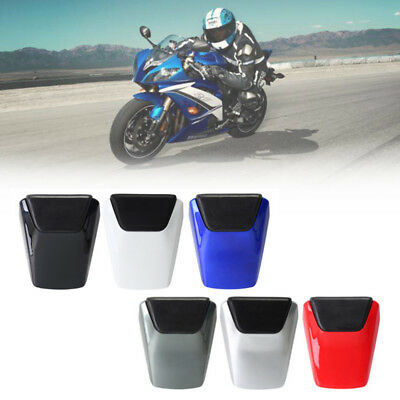 ABS Passenger Rear Pillion Seat Cover Cowl For Yamaha YZF R6 1998-2002 2000 2001