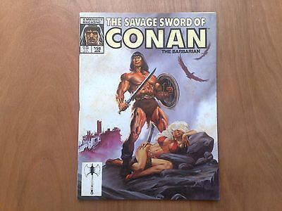 Savage Sword Of Conan The Barbarian #156 Marvel Comics Jan 1989 U.s. Mag. Fine