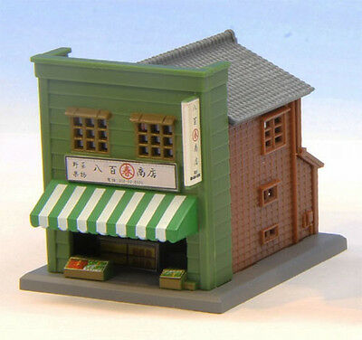 Rokuhan S040-1 Z Scale Store B (Green) (1/220 Z Scale)