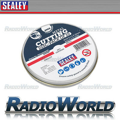 Sealey Cutting Disc 115 x 1.2mm 22mm Bore Pack of 10 PTC11510CET