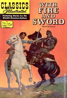 Classics Illustrated 146 With Fire and Sword (1958) #1 GD/VG 3.0 LOW GRADE