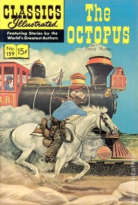 Classics Illustrated 159 The Octopus (1960) #1 GD/VG 3.0 LOW GRADE