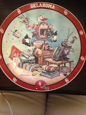 The Ultimate Oklahoma Fan Plate Limited Edition Gary Patterson Free Shipping