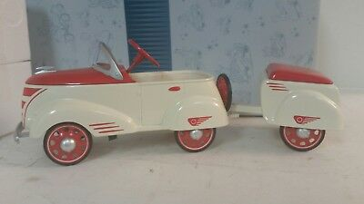 1940 custom w/ trailer Hallmark kiddie PEDAL car classics die cast MINT