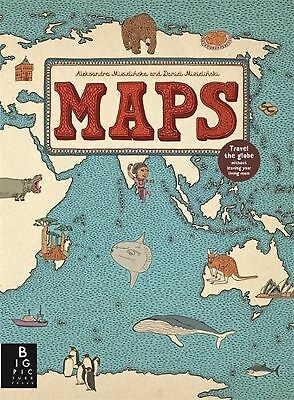 Maps Hardback Children's Book New Free Post