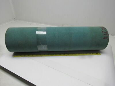 "Green Polyester Fleece Conveyor Belt 10' X 24-3/4"" X 0.210"" Thick"