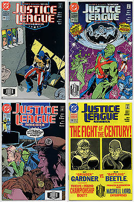 JUSTICE LEAGUE AMERICA #49 #50 #51 #52 - 1991 - CGC Ready! - 9.6 OR BETTER