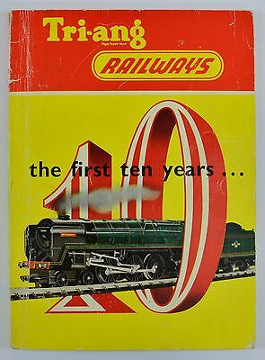 Triang 1962 115 Page The First Ten Years Booklet Generally Excellent