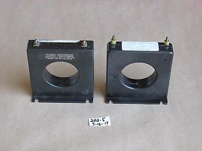 +Lot Of 2 New Instrument Transformers / Emerson 12-779131-00 Current Transformer