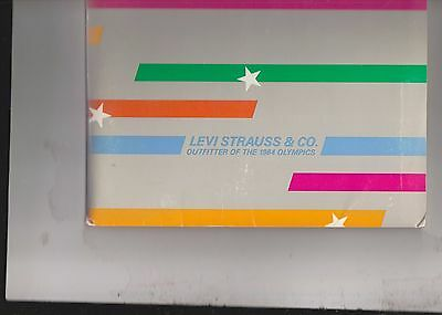 "Levi Strauss 1983  Package Including Annual Report,2 ""patterns,""& Press Releases"
