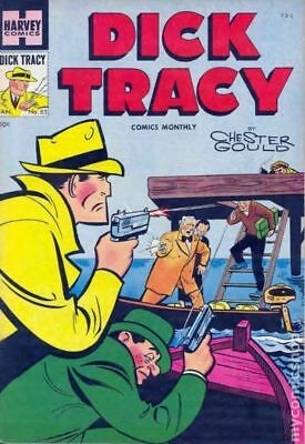 Dick Tracy Monthly (1948-1961) #83 VG- 3.5 LOW GRADE