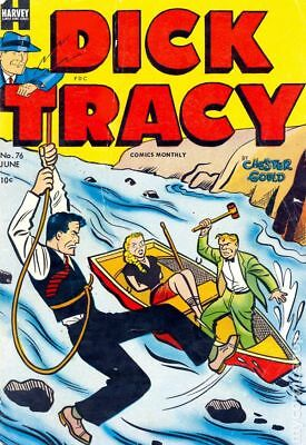 Dick Tracy Monthly (1948-1961) #76 VG- 3.5 LOW GRADE