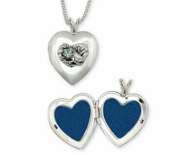 Frog Photo Locket Jewelry Sterling Silver Handmade Frog Photo Locket FG15-XT