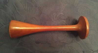 Antique Stethoscope Medical wooden monaural Doctor 19c.
