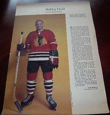Bobby Hull # 12 issue Weekend Magazine Photos 1963 -1964 Toronto Star
